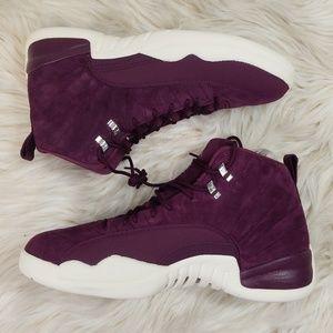 NWOT Size 15 Jordan 12 Bordeaux